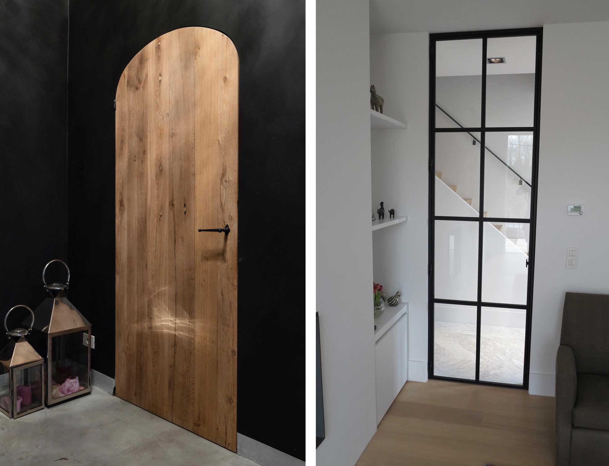 deur maken van hout